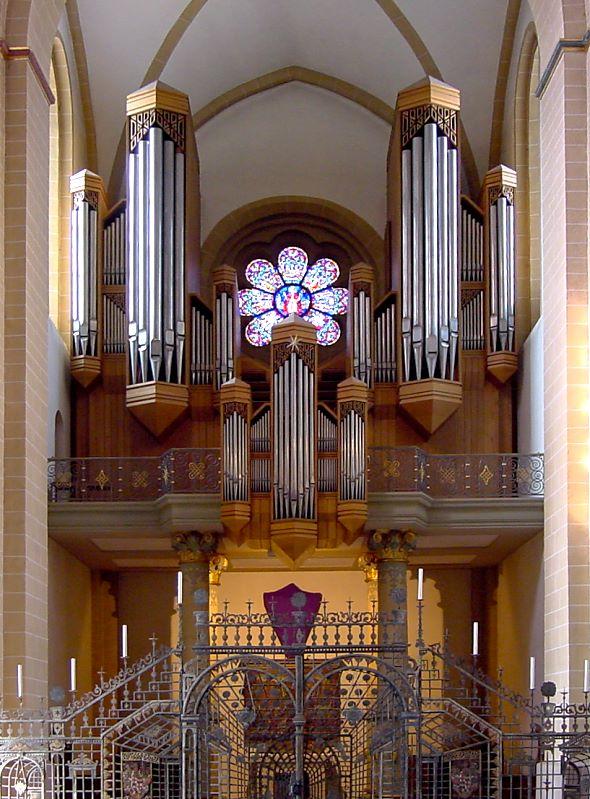 Paderborn, Dom, Turmorgel